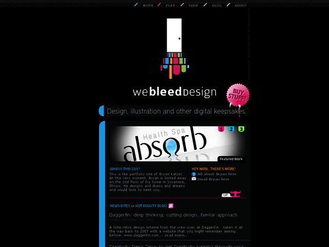 dark web design