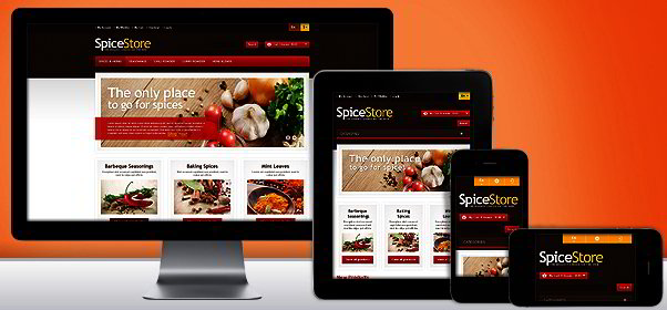 Spices For Any Dishes Magento Theme