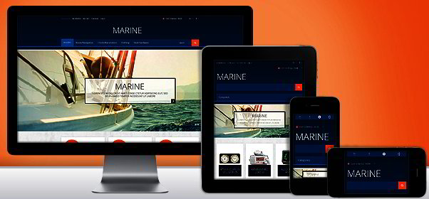 Sailor's Shop Magento Theme