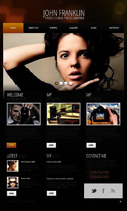 Art & Photography WordPress Theme | Website Templates