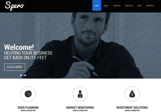 Business Consultancy Web Template
