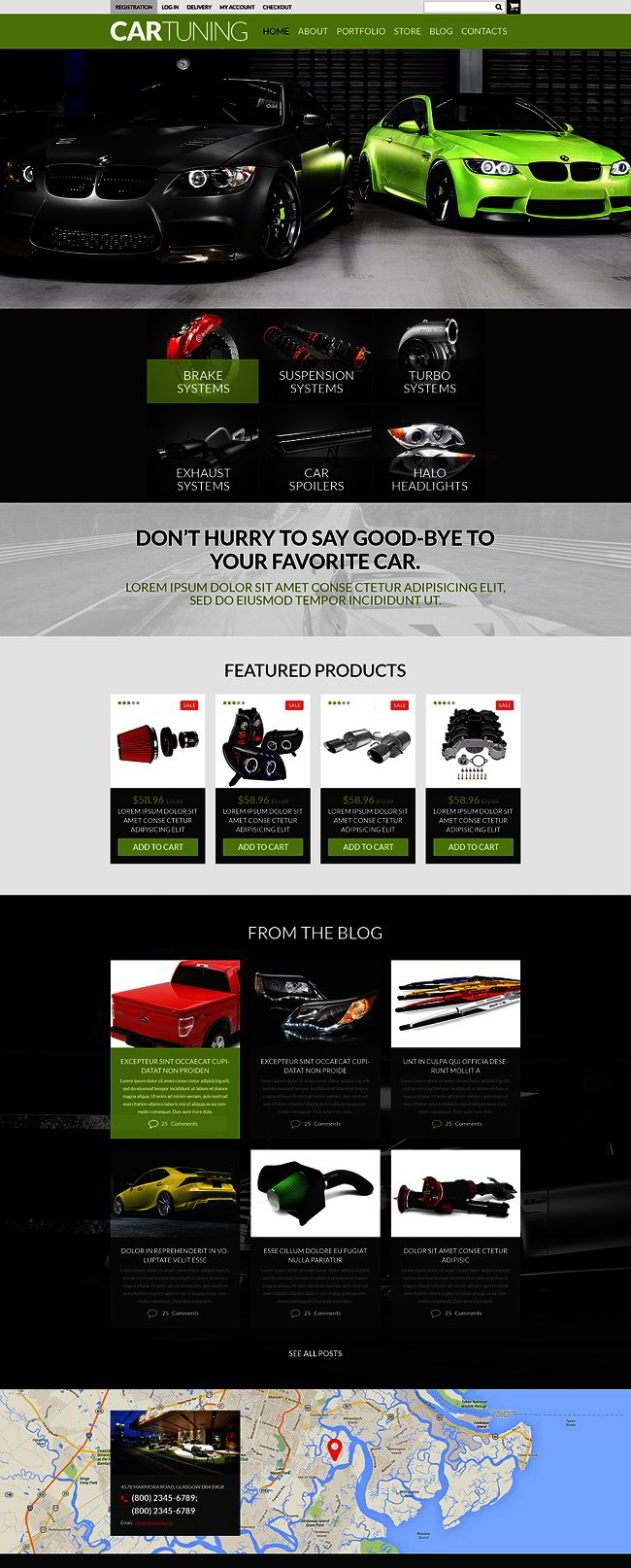 Auto Tuning Workshop WooCommerce Theme