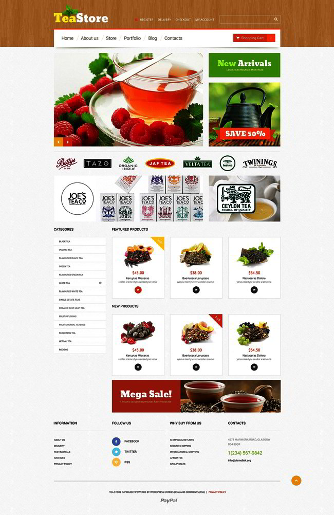 Tea Ceremony WooCommerce Theme