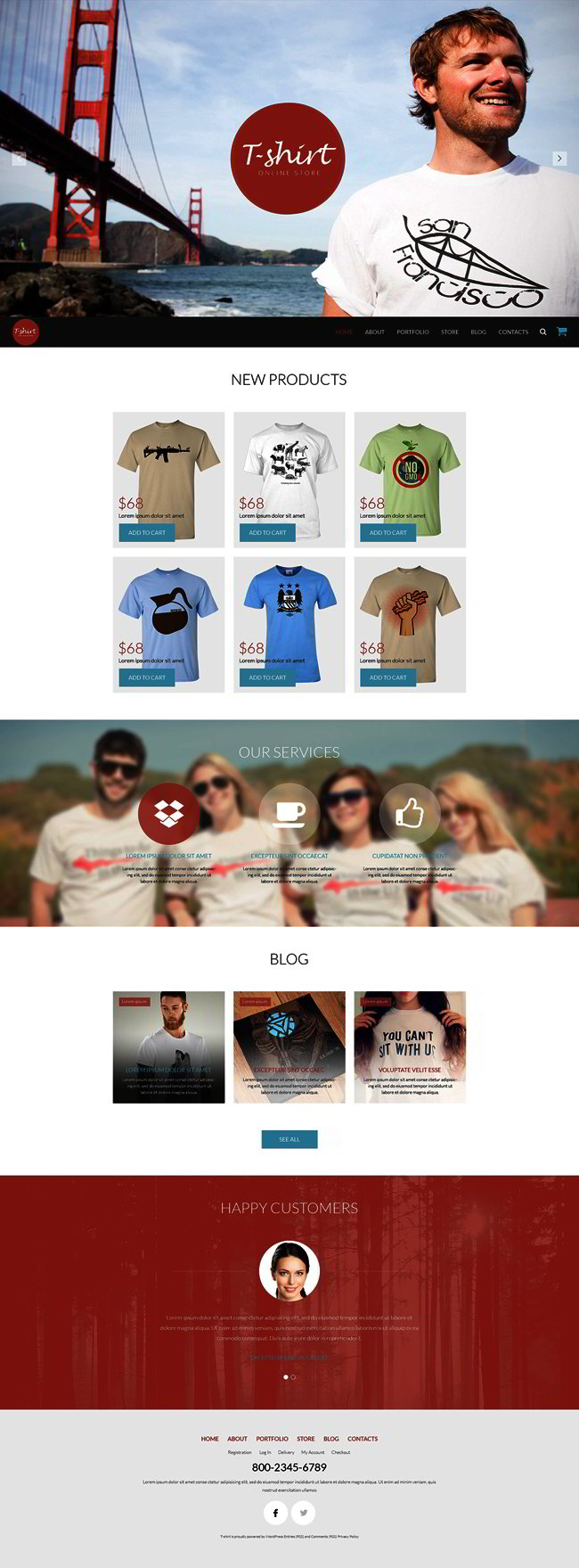 Any Taste TShirts WooCommerce Theme