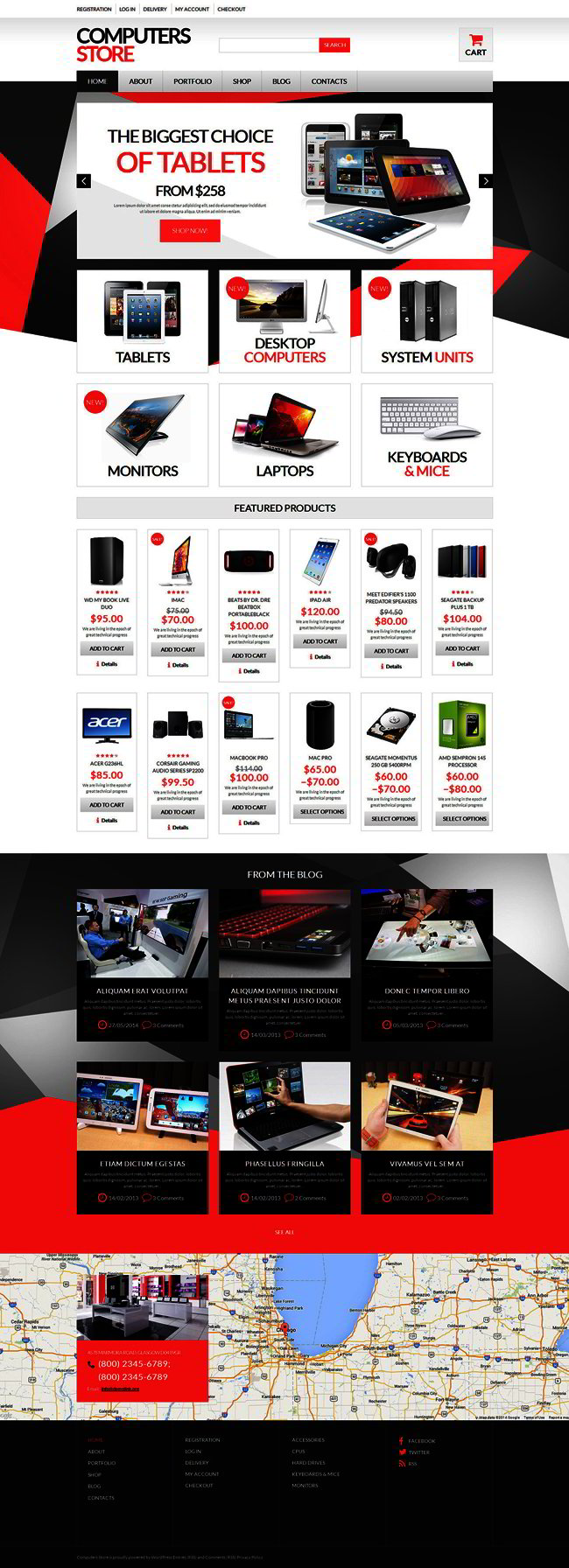 Computer Hardware WooCommerce Theme
