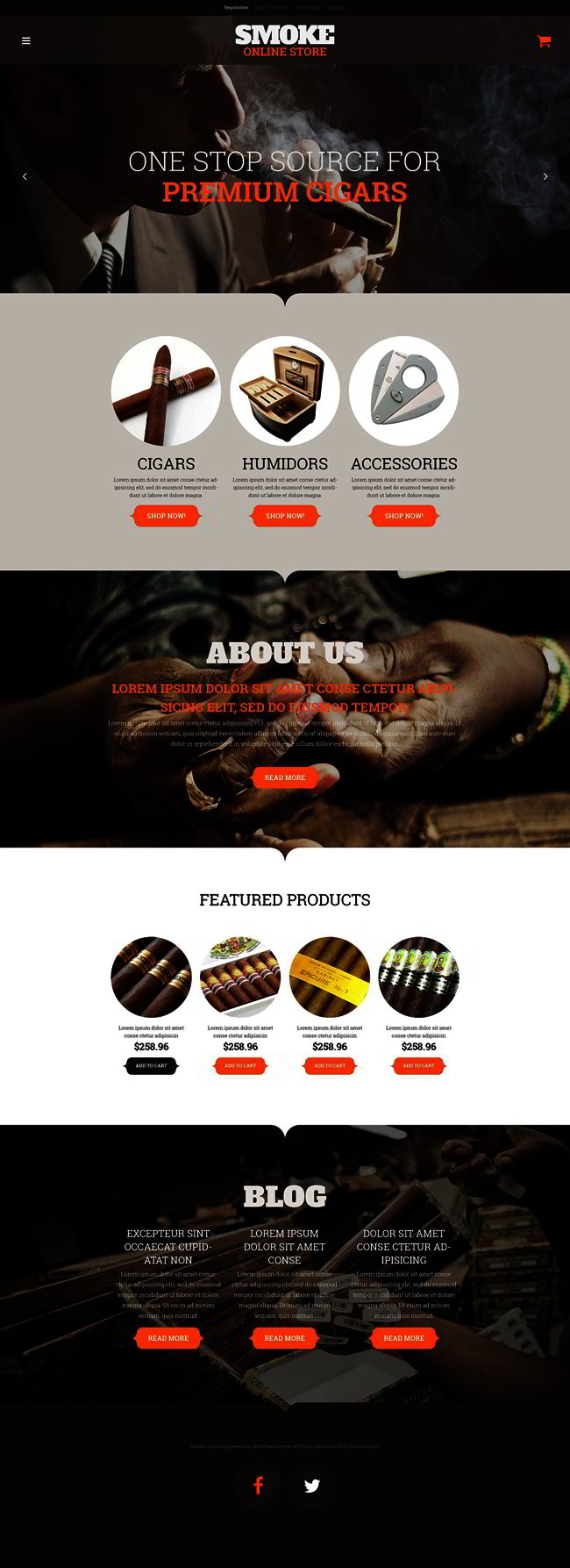 Smoke Shop WooCommerce Theme