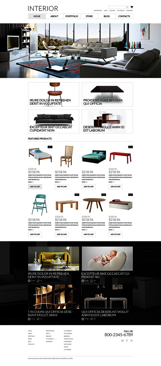 Interior Furniture WooCommerce Theme