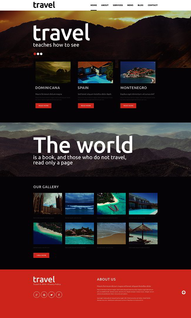 Travel Spot Joomla Template