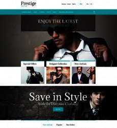 Free Online Store Templates Website Templates