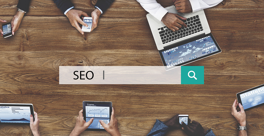 Search Engine Optimization Data Digital SEO Concept